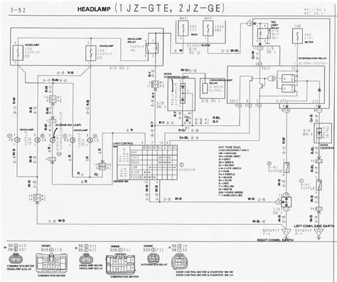 wiring diagram 1jz vvti wiring diagram and schematics