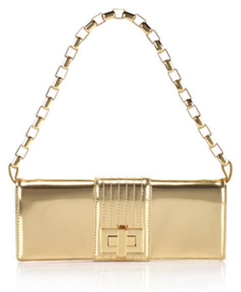 Kooba Penelope Patent Clutch by Kooba Penelope Mirror Clutch Via Hauteness The Handbag