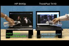 Lenovo Thinkpad Gif water test gifs search find make gfycat gifs