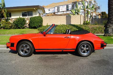 1983 porsche 911 sc cabriolet for sale 1983 porsche 911 sc 3 0l cabriolet for sale