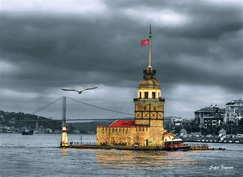 kz kulesi pictures of istanbul
