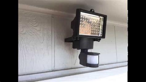 harbor freight light led solar motion light harbor freight install