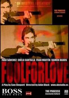 libro fool for love and fool for love estreno de teatro ocio telva com