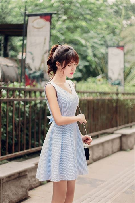 Fashion Korea Mandea 306 korean fashion japanese v neck halter waist a word dress design och inspiration