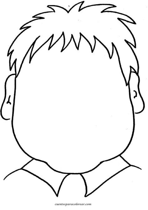 partes de la cara dibujo para colorear caras para dibujar y colorear de personas favoritos