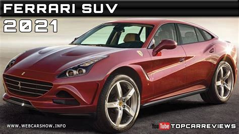 suv ferrari price 2021 ferrari suv review rendered price specs release date
