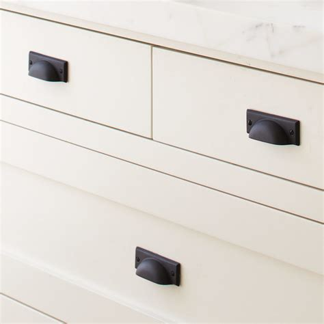 bevel edge bin pull contemporary cabinet and drawer