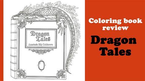 dragon tales coloring book review flip
