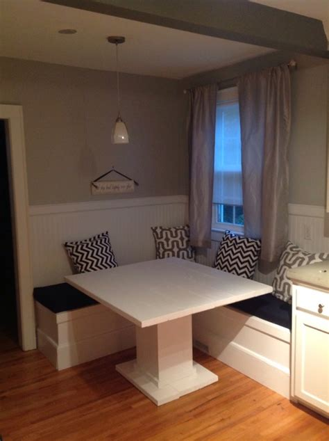 diy breakfast nook how to make a custom breakfast seating nook snapguide