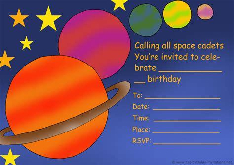 kids birthday party invitations free amp printable 1st