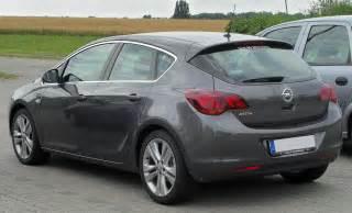 Opel Astra Images File Opel Astra J Rear 1 20100725 Jpg