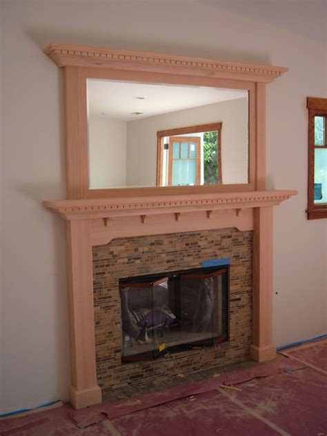 craftsman fireplace mantel ideas homesfeed