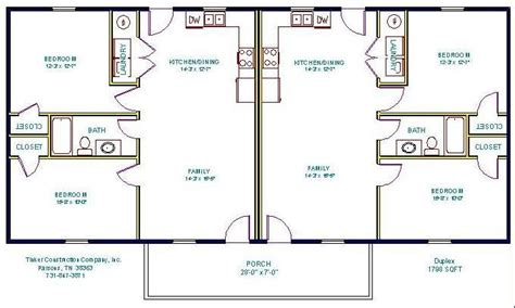 Simple Small House Floor Plans Floorplan Duplex Duplex Duplex House Plan Layout