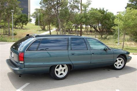 automobile air conditioning service 1994 chevrolet impala ss auto manual sell used 1994 caprice ss wagon impala clone lt1 in austin texas united states for us 9 500 00