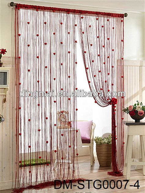 Hottest Sell Hotel String Curtains India Buy String