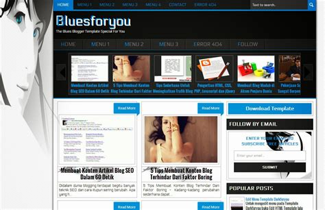 html layout dll free download bluesforyou blogger template indo template