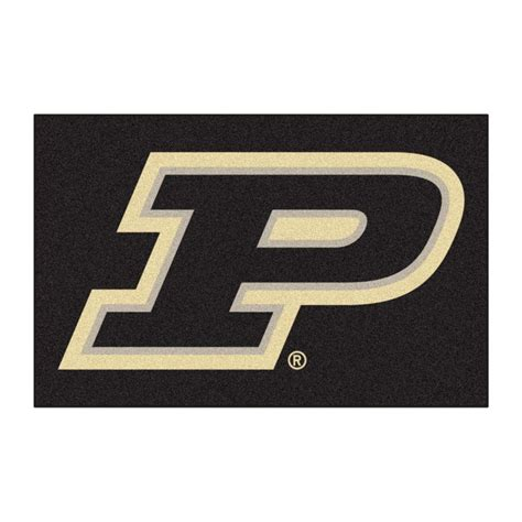High Quality Kitchen Faucets fanmats ncaa purdue university p logo black 1 ft 7 in x