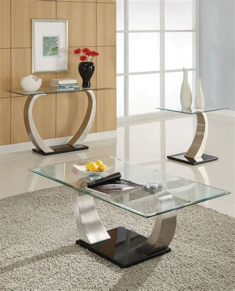 Living Room Glass Tables 30 Glass Coffee Tables That Bring Transparency To Your Living Room