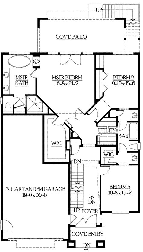 house plan with finished basement house design plans
