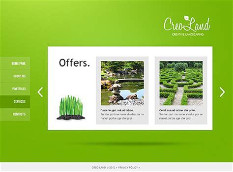 Landscape Design Website Template 37330 Landscape Architecture Website Templates