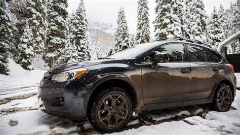 Subaru In The Snow by Subaru Xv Crosstrek In The Snow