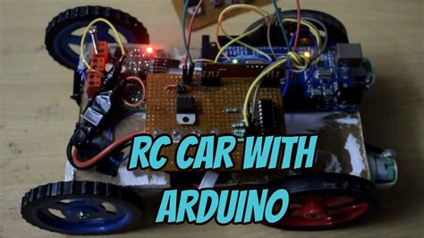 arduino tutorial rc car arduino rc car code with rf my crafts and diy projects
