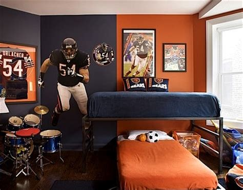 bedroom sports com teen room sports collection display ideas