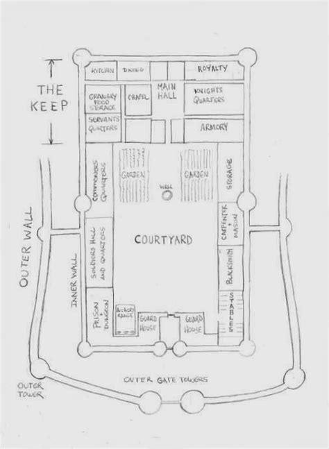 medieval castle floor plan castle floor plans a large plan