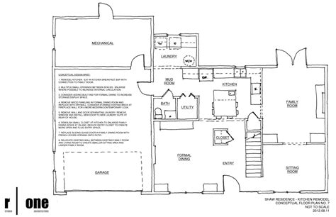 renovation floor plans kitchen remodel part iii r one studio architecture