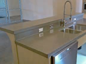 pros and cons of concrete countertops solcrete