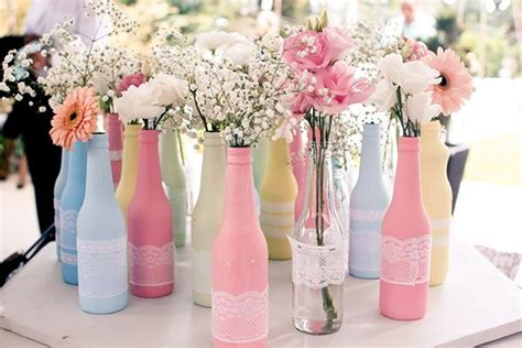 como deixar sua decora 231 227 o linda com garrafas decorativas