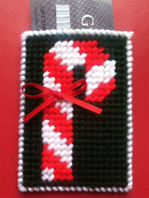 Canes Gift Card - candy cane gift card holder candy cane holiday gifts gifts for him gifts for her