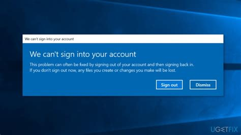 cant sign into account on android how to fix we can t sign into your account error on windows