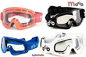 Kacamata Sport Goggles Motor Cross Blue x1k boys and atv road enduro motocross