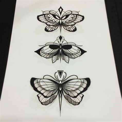 moth tattoo design butterfly designs best ideas gallery