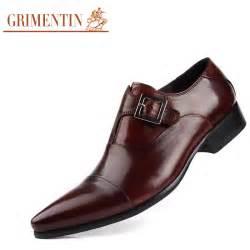 aliexpress com buy luxury mens dress shoes genuine