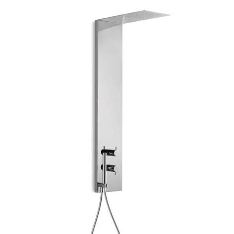 colonna doccia con miscelatore colonna doccia con miscelatore acciaio inox doccetta