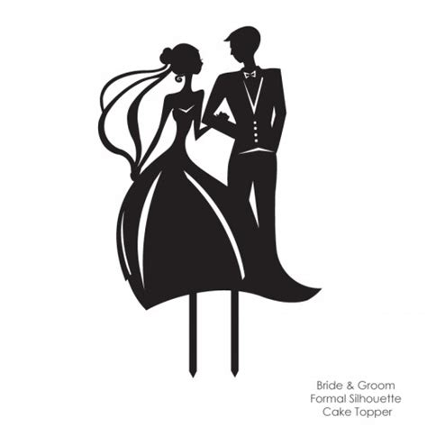 Wedding Siluet by Wedding Silhouette Cliparts Co