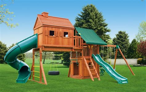 swing house fantasy tree house playset 7 fantasy tree house swing set 7