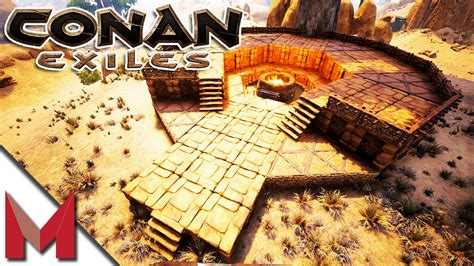 pit of yog temple build w sl1pg8r conan exiles gameplay ep6