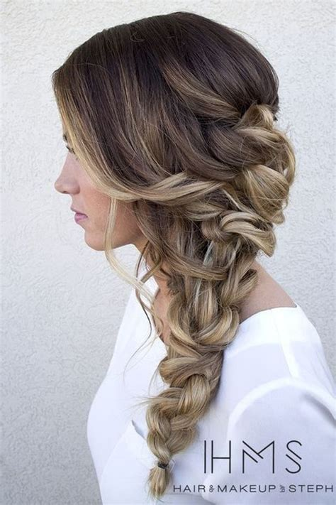 Wedding Hairstyles Side Swept by 40 Gorgeous Side Swept Wedding Hairstyles Happywedd