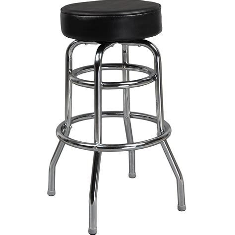 Padded Metal Bar Stools by Swivel Barstools Padded Black Swivel Barstools Metal Frame