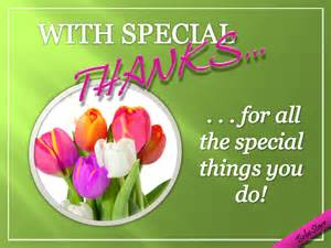 with special thanks free for everyone ecards greeting