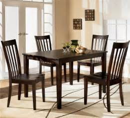 dining room table sets ashley d258 225 hyland rectangular dining room table set