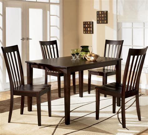 ashley dining room furniture ashley d258 225 hyland rectangular dining room table set