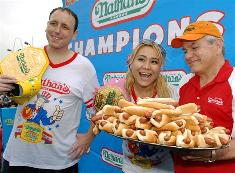female hot dog eating chion nathan s hot dog eating contest 2015 tv schedule live