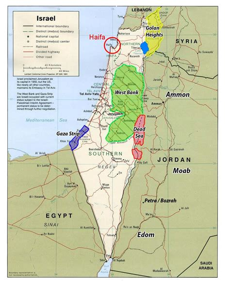 israel map today visitor s information planning with workshop