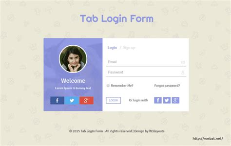 login page template asp net login page design templates in asp net 66 responsive