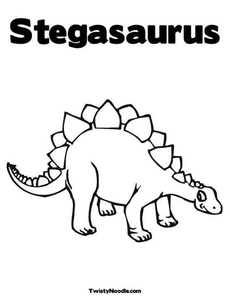 Stegosaurus Coloring Coloring Pages Stegosaurus Coloring Pages