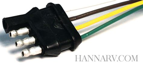 trailer wiring harness   flat  gauge wire  inches